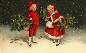Victorian Christmas Children 21